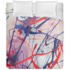 Messy Love Duvet Cover Double Side (california King Size) by LaurenTrachyArt