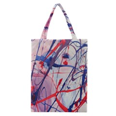 Messy Love Classic Tote Bag by LaurenTrachyArt