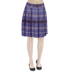 Purple Heather Plaid Pleated Skirt by allthingseveryone
