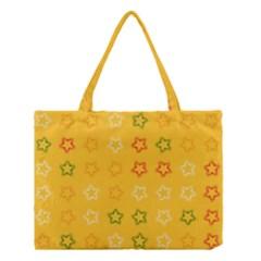 Spray Stars Pattern B Medium Tote Bag by MoreColorsinLife