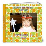 ABBYS BDAY ALBUM - 8x8 Photo Book (20 pages)