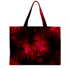 Artsy Red Trees Mini Tote Bag by allthingseveryone