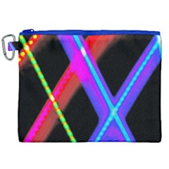 Xmas Light Paintings Canvas Cosmetic Bag (xxl) by Celenk