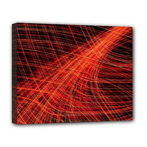 A Christmas Light Painting Deluxe Canvas 20  X 16   by Celenk