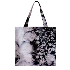 Earth Right Now Zipper Grocery Tote Bag by Celenk