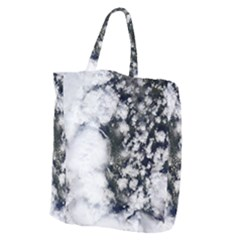 Earth Right Now Giant Grocery Zipper Tote by Celenk
