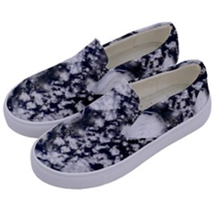 Earth Right Now Kids  Canvas Slip Ons by Celenk