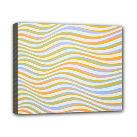 Art Abstract Colorful Colors Canvas 10  X 8  by Celenk