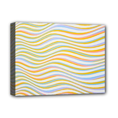 Art Abstract Colorful Colors Deluxe Canvas 16  X 12   by Celenk