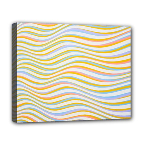 Art Abstract Colorful Colors Deluxe Canvas 20  X 16   by Celenk