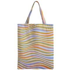 Art Abstract Colorful Colors Zipper Classic Tote Bag by Celenk