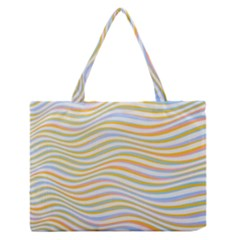 Art Abstract Colorful Colors Zipper Medium Tote Bag by Celenk