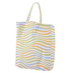 Art Abstract Colorful Colors Giant Grocery Zipper Tote by Celenk