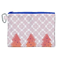 Christmas Card Elegant Canvas Cosmetic Bag (xl) by Celenk
