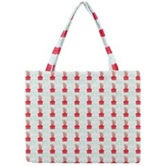 At On Christmas Present Background Mini Tote Bag by Celenk