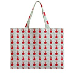 At On Christmas Present Background Zipper Mini Tote Bag by Celenk