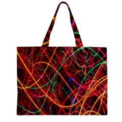 Wave Behaviors Zipper Mini Tote Bag by Celenk
