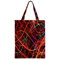 Wave Behaviors Zipper Classic Tote Bag by Celenk