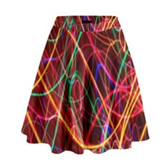 Wave Behaviors High Waist Skirt by Celenk