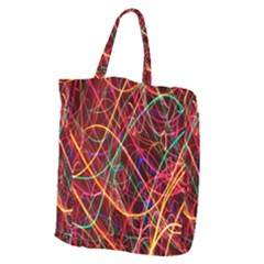 Wave Behaviors Giant Grocery Zipper Tote by Celenk