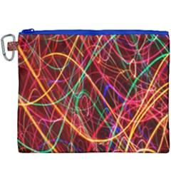 Wave Behaviors Canvas Cosmetic Bag (xxxl) by Celenk