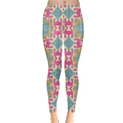 Christmas Wallpaper Leggings  by Celenk