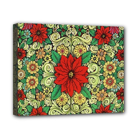 Calsidyrose Groovy Christmas Canvas 10  X 8  by Celenk