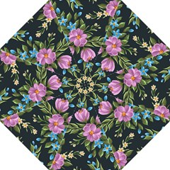 Beautiful Floral Pattern Folding Umbrellas