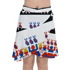 Bulgarian Folk Art Folk Art Chiffon Wrap