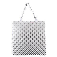 Star Pattern Decoration Geometric Grocery Tote Bag by Celenk
