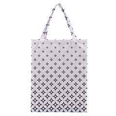Star Pattern Decoration Geometric Classic Tote Bag by Celenk