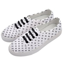 Star Pattern Decoration Geometric Women s Classic Low Top Sneakers by Celenk