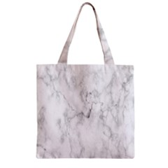 White Background Pattern Tile Zipper Grocery Tote Bag by Celenk