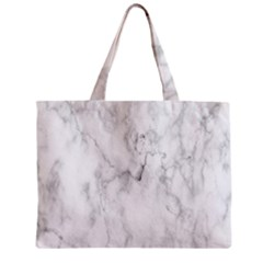 White Background Pattern Tile Zipper Mini Tote Bag by Celenk