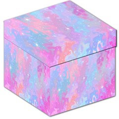 Space Psychedelic Colorful Color Storage Stool 12   by Celenk