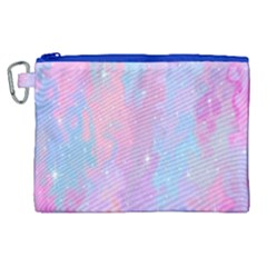 Space Psychedelic Colorful Color Canvas Cosmetic Bag (xl) by Celenk