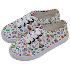 Design Aspect Ratio Abstract Kids  Classic Low Top Sneakers by Celenk