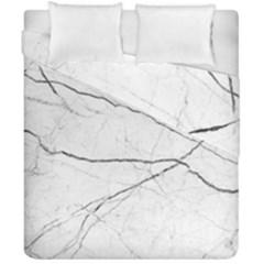 White Background Pattern Tile Duvet Cover Double Side (california King Size) by Celenk