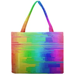 Colors Rainbow Chakras Style Mini Tote Bag by Celenk