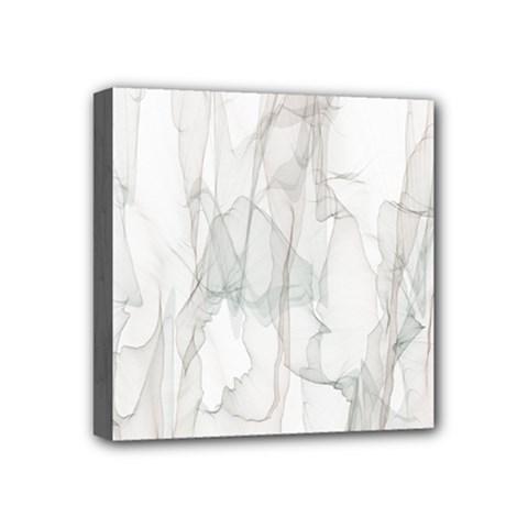Background Modern Smoke Design Mini Canvas 4  X 4  by Celenk