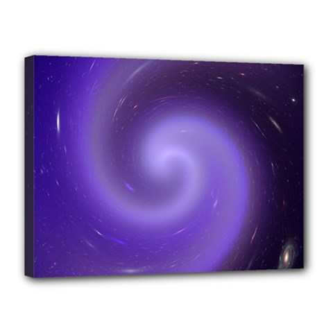 Spiral Lighting Color Nuances Canvas 16  X 12  by Celenk