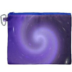 Spiral Lighting Color Nuances Canvas Cosmetic Bag (xxxl) by Celenk