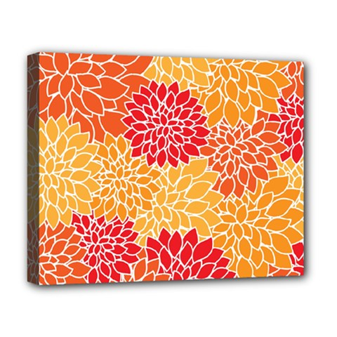 Abstract Art Background Colorful Deluxe Canvas 20  X 16   by Celenk