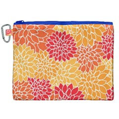 Abstract Art Background Colorful Canvas Cosmetic Bag (xxl) by Celenk