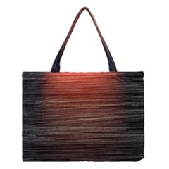 Background Red Orange Modern Medium Tote Bag by Celenk