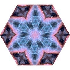 Sacred Geometry Mandelbrot Fractal Mini Folding Umbrellas by Celenk