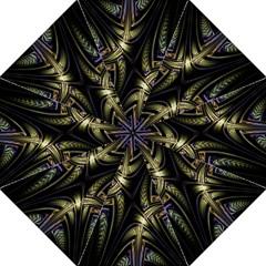 Fractal Braids Texture Pattern Straight Umbrellas by Celenk