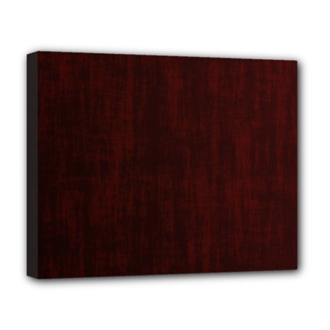 Grunge Brown Abstract Texture Deluxe Canvas 20  X 16   by Celenk
