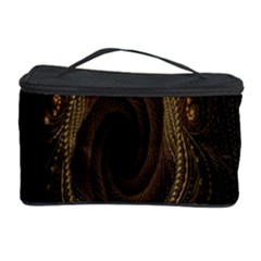 Beads Fractal Abstract Pattern Cosmetic Storage Case by Celenk