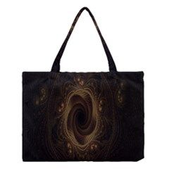 Beads Fractal Abstract Pattern Medium Tote Bag by Celenk